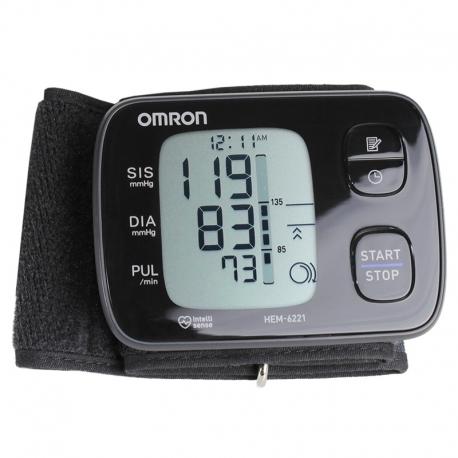 c67ff7762 Aparelho de pressão arterial de pulso Elite OMRON HEM-6221 - Med Vendas