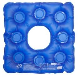 Almofada em gel quadrada com orifício - AG Plásticos
