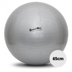 Bola para exercícios e pilates - Carci Gynastic Ball - 65cm prata