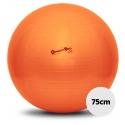 Bola para exercícios e pilates - Carci Gynastic Ball - 75cm laranja