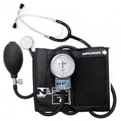 Aparelho de pressão arterial com estetoscópio unisson - P.A MED
