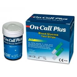 Tiras reagentes - On Call Plus - 50 unidades
