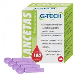 Lanceta 28G - G-TECH - 100 unidades