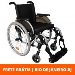 Cadeira de rodas Start  M1 43cm - Ottobock - Cinza