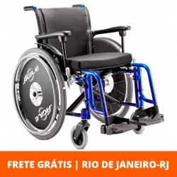 Cadeira de rodas Ágile 44cm -  Jaguaribe - Azul