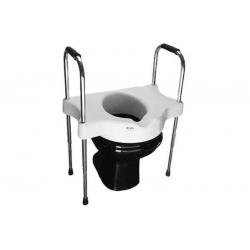 Elevador de assento sanitário com alças reguláveis - SIT V - Carci