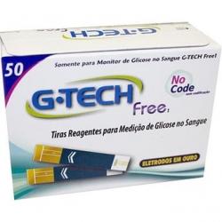 Tiras Reagentes G-TECH Free1 - 50 unidades